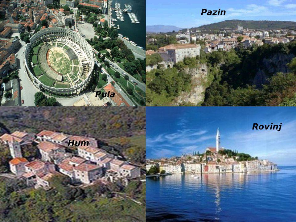 Istrien ist die größte Halbinsel an der nördlichen Adria zwischen dem Golf von Triest und der Kvarner- Bucht vor Rijeka die Bezeichnung Istrien geht a