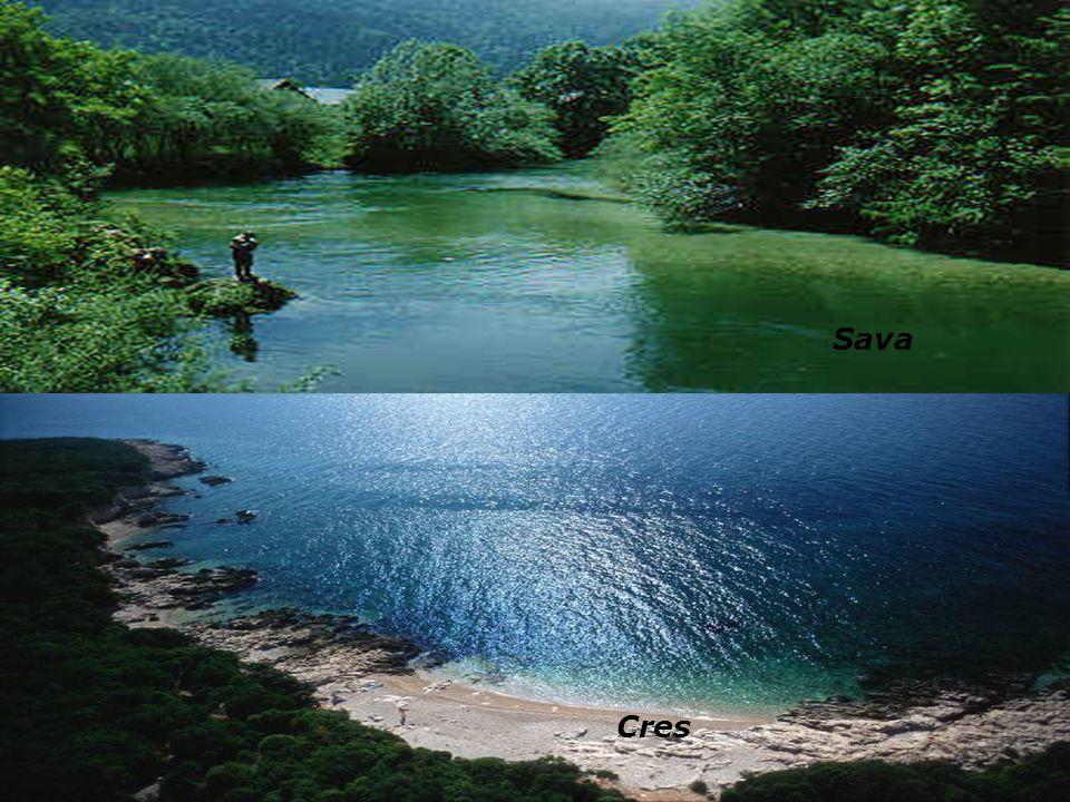 Inseln Zu Kroatien gehoren 1246 Inseln un die grossten sind Cres,Krk,Brač,Hvar... Berge Die hochsten Berge in Kroatie ist Dinara (1831 m) Seen Die gro