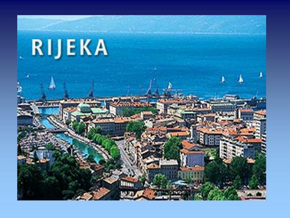 Rijeka...ist eine Hafenstadt an der Kvarner-Bucht in Kroatien italienisch und ungarisch Fiume, slowenisch Reka, deutsch veraltet auch St. Veit am Flau