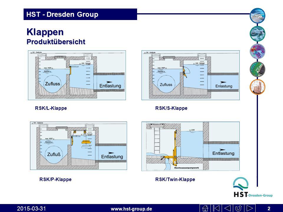 www.hst-group.de HST - Dresden Group RSK/L-Klappe 2015-03-31 3