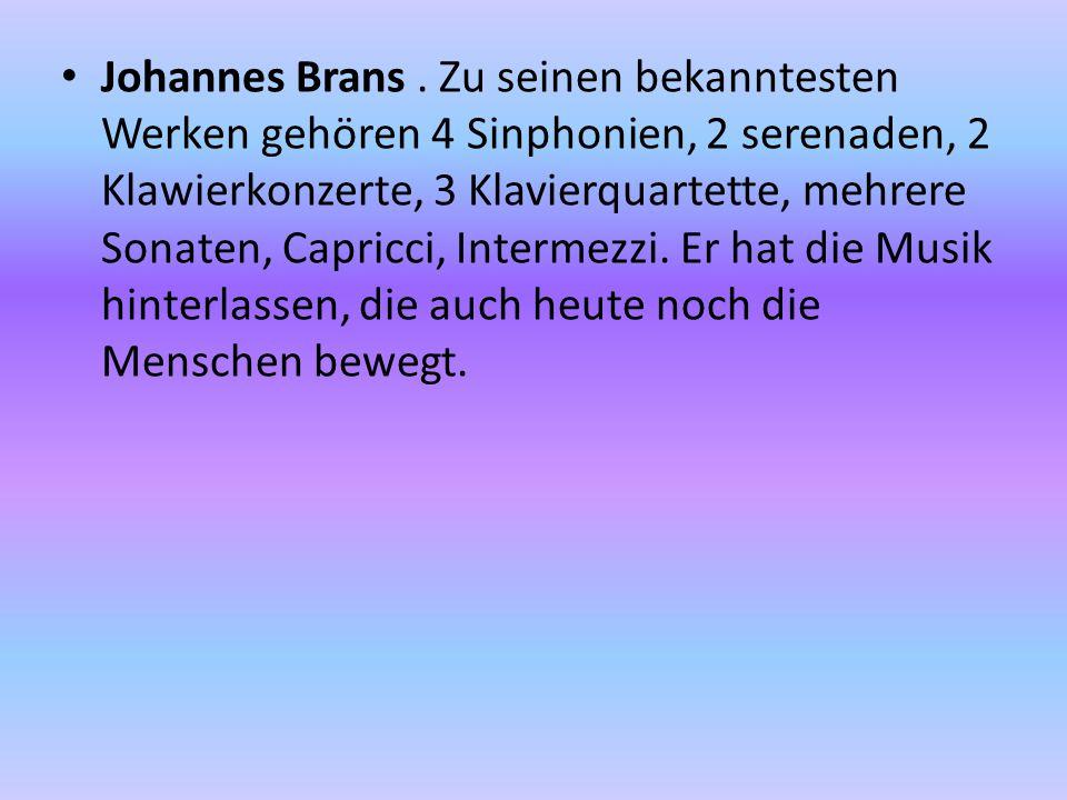 Johannes Brans.
