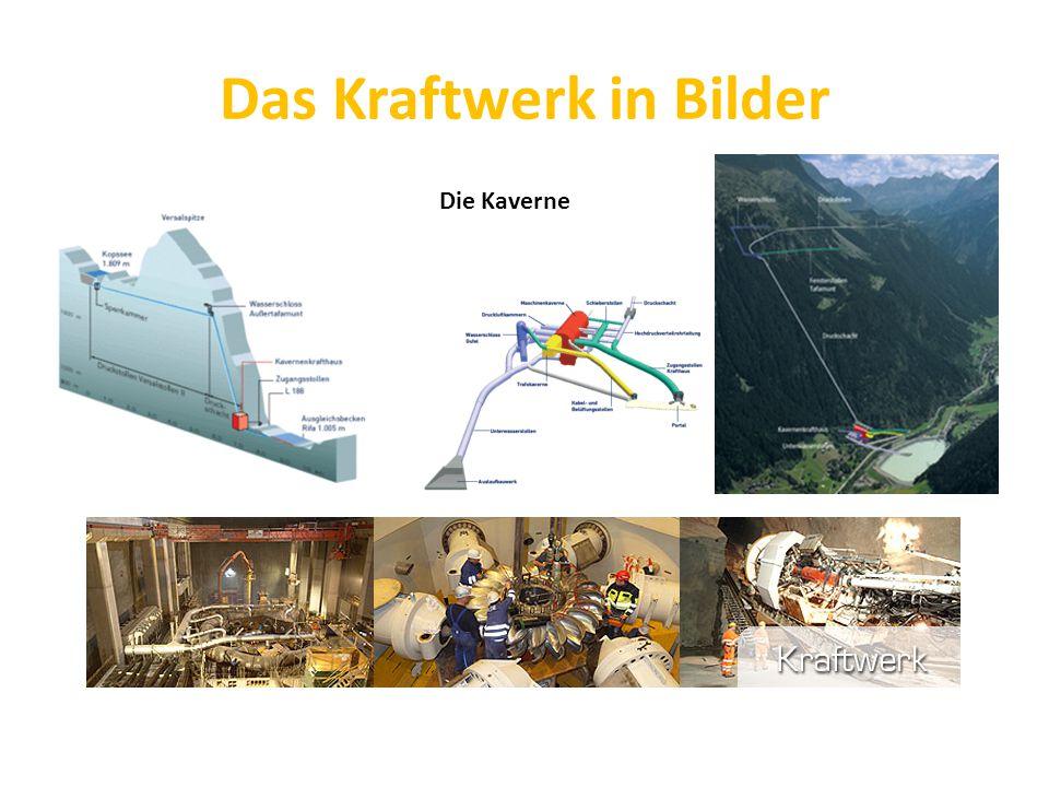 Das Kraftwerk in Bilder Die Kaverne