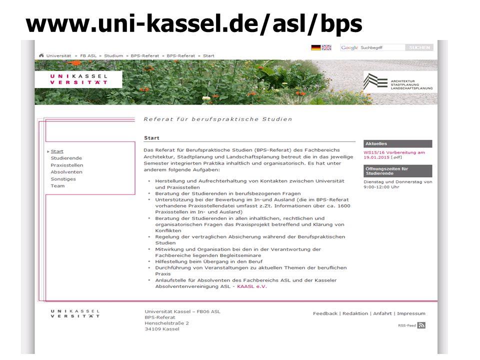 Das Praxisprojekt BPS 1.Vorbereitung auf das Praxisprojekt 2.