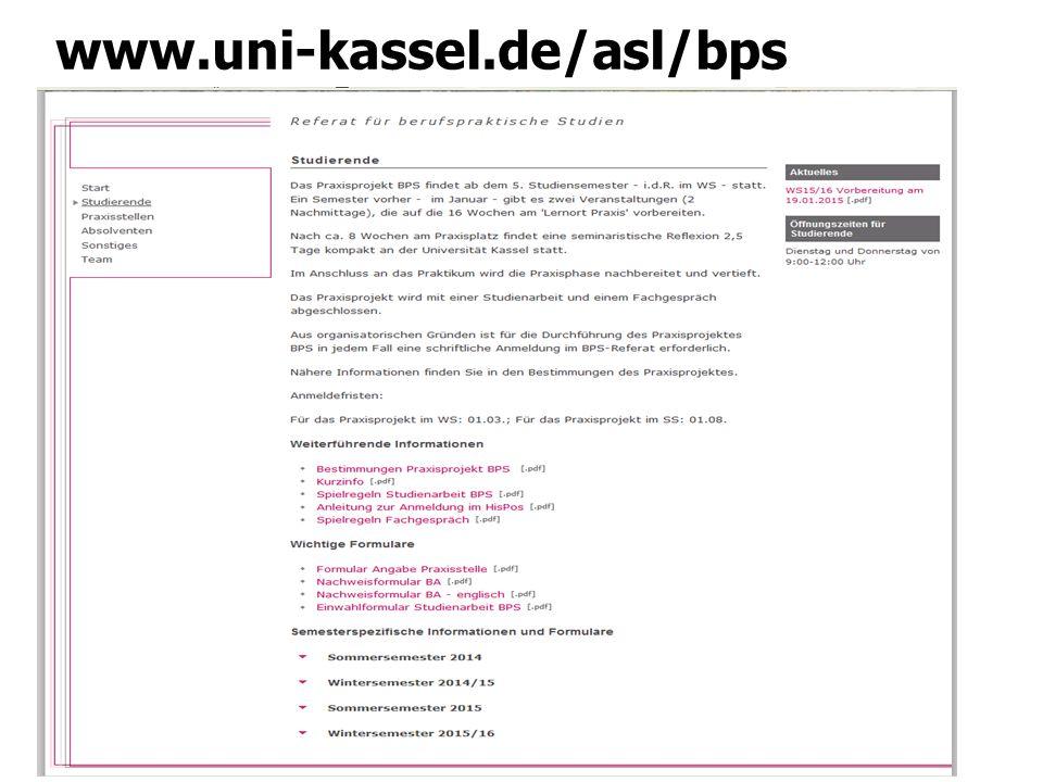 Vorgehensweise Praxisprojekt BPS Erläuterung → Kurzinfo Was ist alles vor/ während und nach dem Praxisprojekt BPS zu tun?