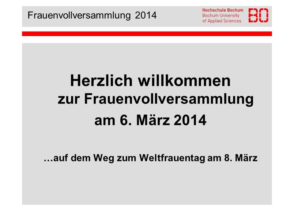 Frauenvollversammlung 2014 Lore Agnes – Clara Zetkin – Mathilde Wurm