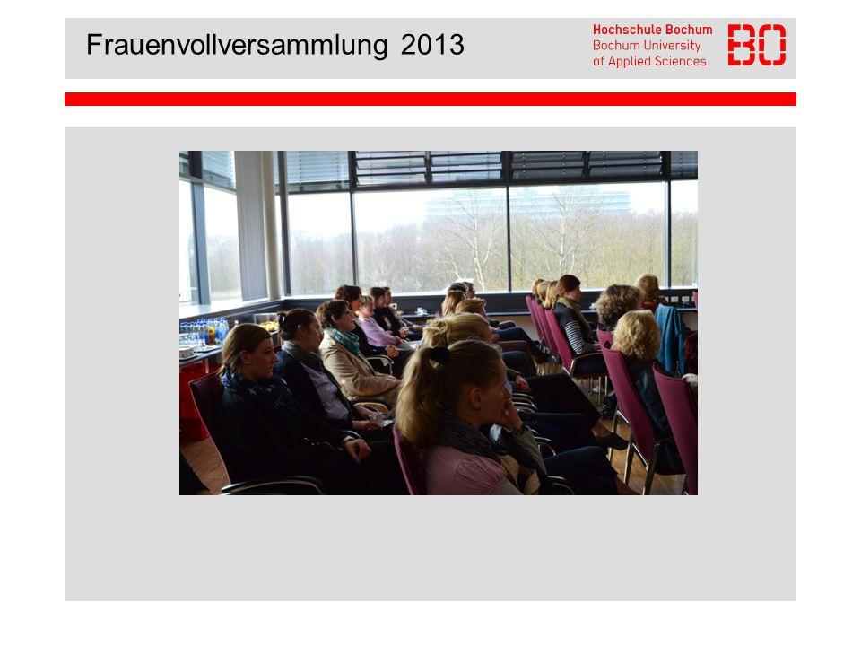 Frauenvollversammlung 2013