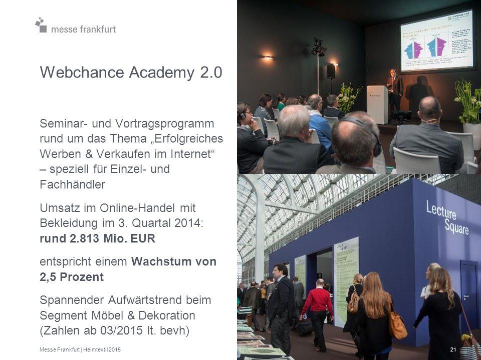 """Webchance Academy 2.0 Seminar- und Vortragsprogramm rund um das Thema """"Erfolgreiches Werben & Verkaufen im Internet"""" – speziell für Einzel- und Fachhä"""