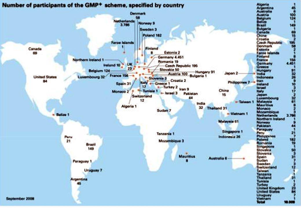 + _ Copyright K. Bielefeld GMP für QMB´s7 _ GTP-Zertifikat für Getreidehändler, europ. Verband COCERAL (www.coceral.com) zMitglieder sind teilweise GT