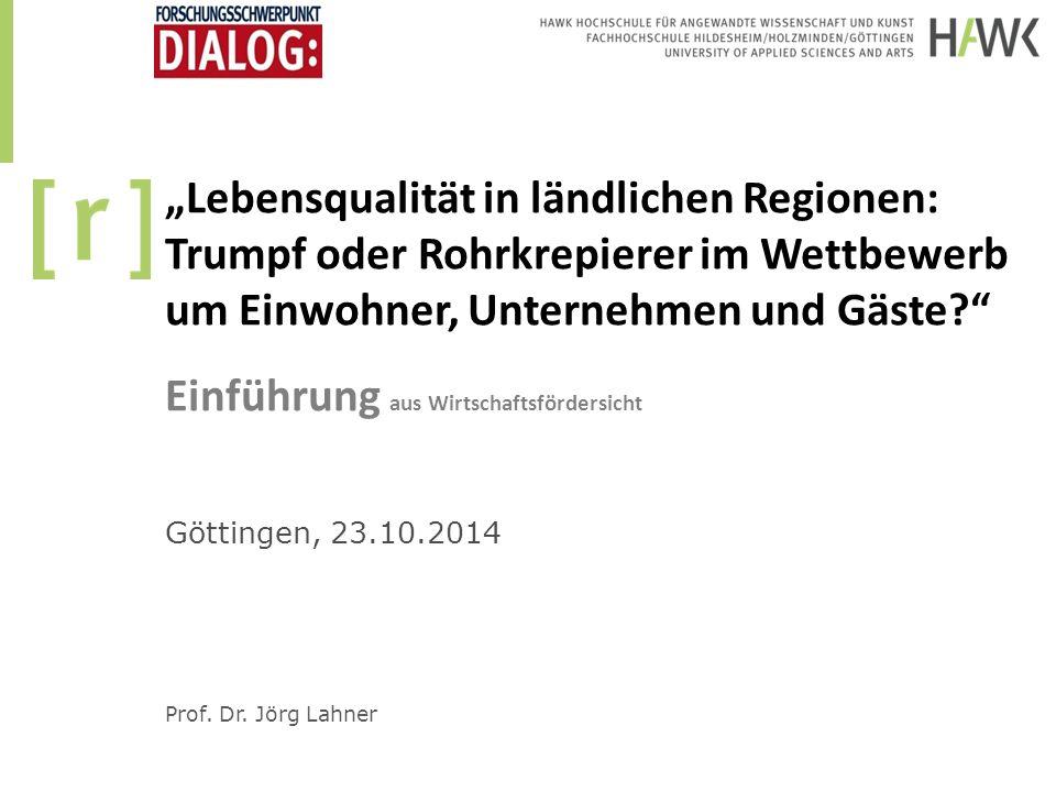 Standortanalyse: Lebensqualität Lebenshaltungskosten (inkl.