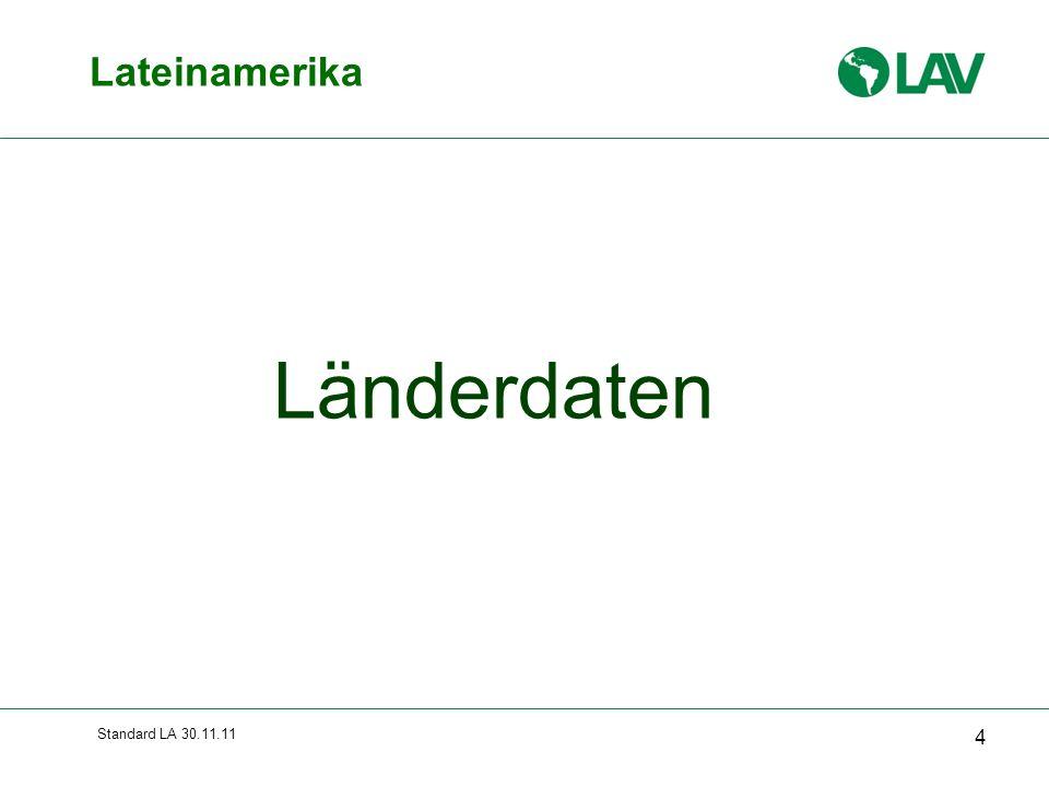 Standard LA 30.11.11 Lateinamerika 4 Länderdaten