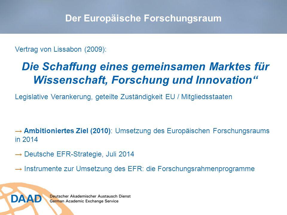 EU Forschungsförderung 4 Schaubild: EU Kommission