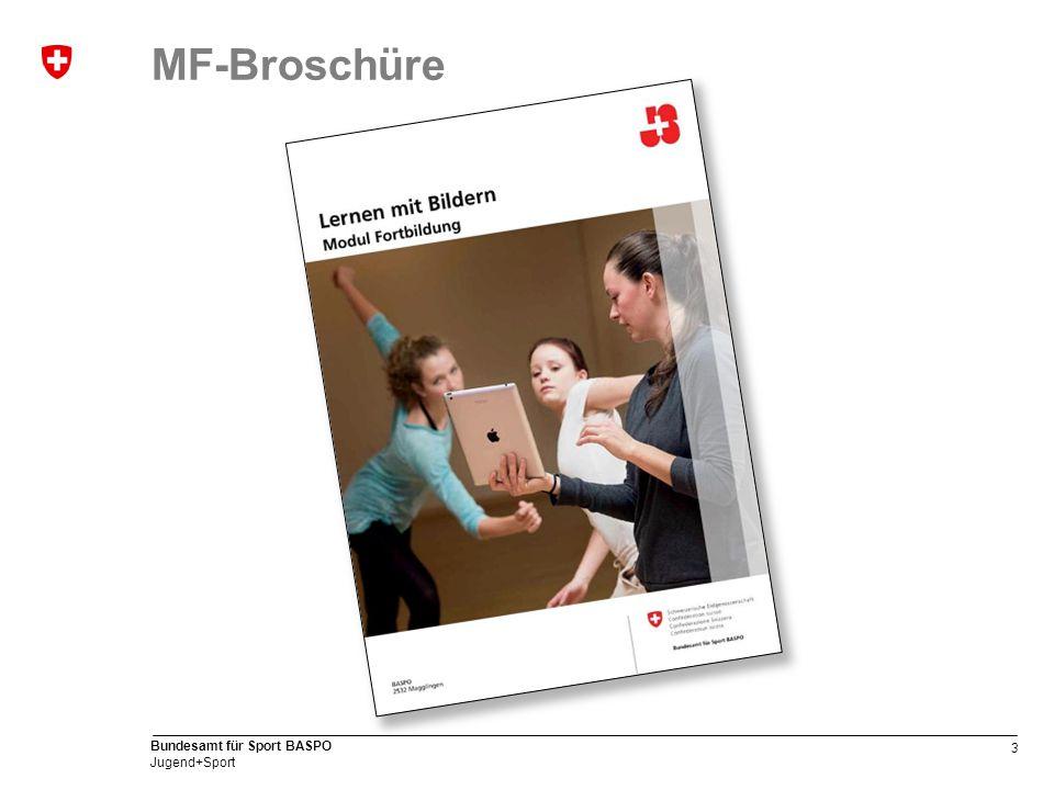 3 Bundesamt für Sport BASPO Jugend+Sport MF-Broschüre