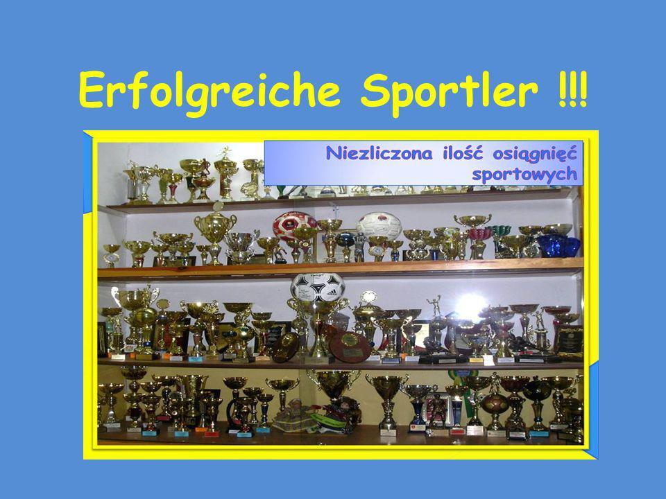 Erfolgreiche Sportler !!!