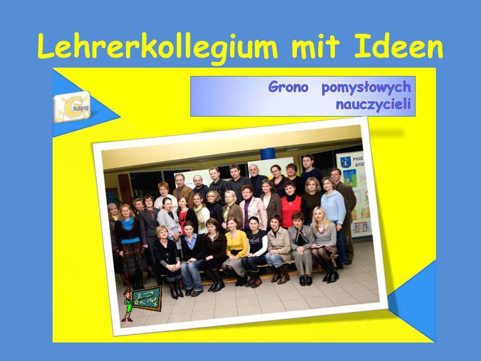 Lehrerkollegium mit Ideen