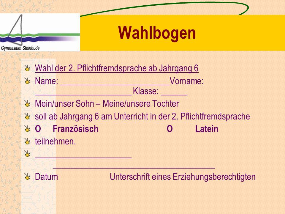 Durchführung der Wahl Bis 06.02.2015: Abgabe der unterschriebenen Wahlbögen.