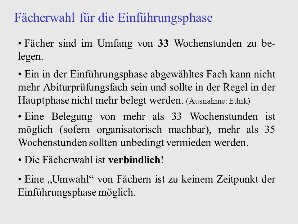 Fächerwahl für die Einführungsphase (1) (2) (3) neusprachlich-allgemein bildender Zweig (a-Zweig) bilingualer Zweig (b-Zweig) Sportzweig (s-Zweig)