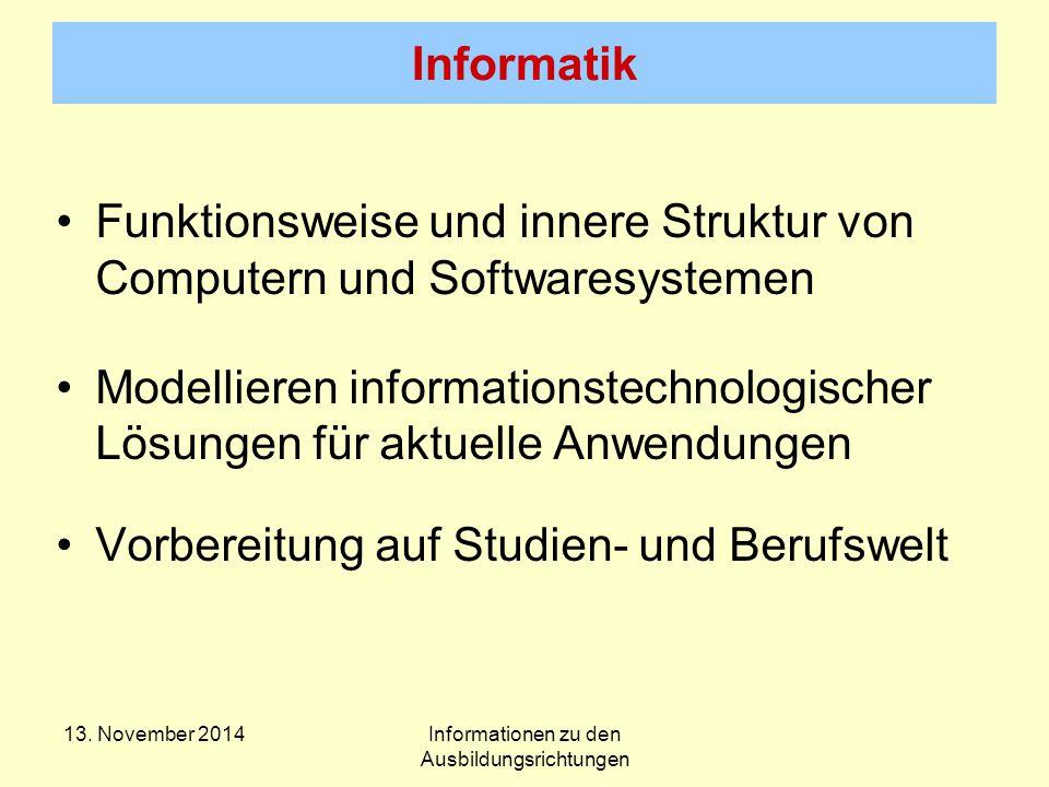 Informatik 13.
