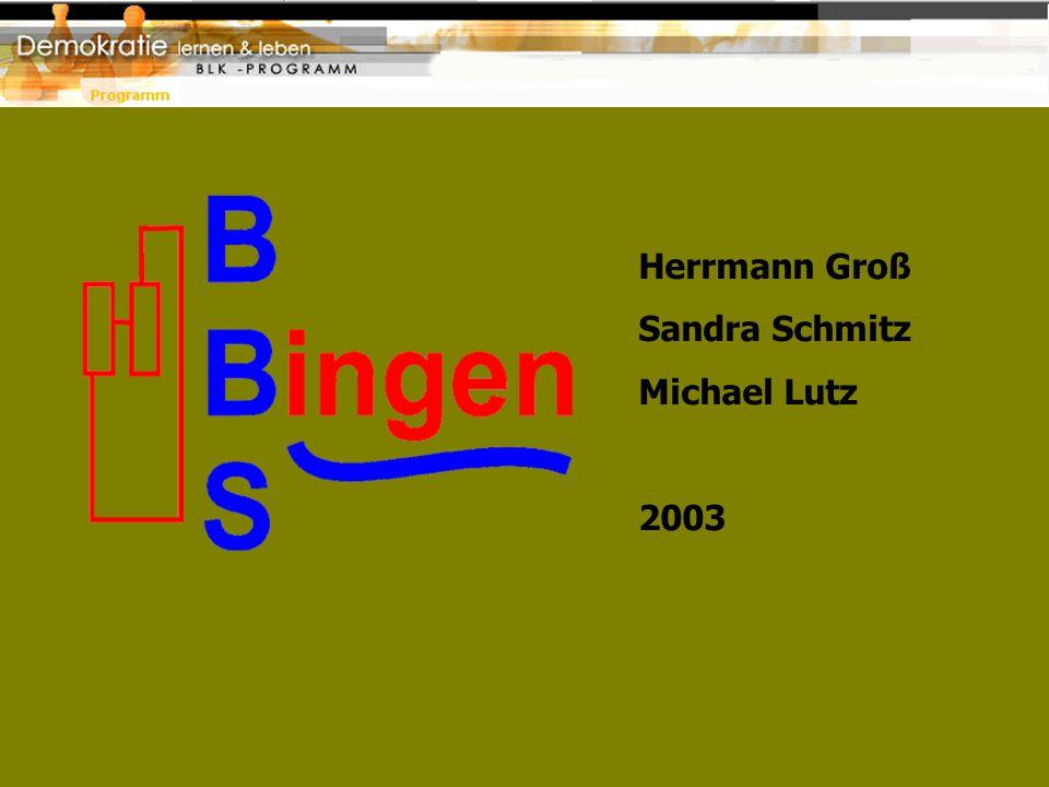Herrmann Groß Sandra Schmitz Michael Lutz 2003