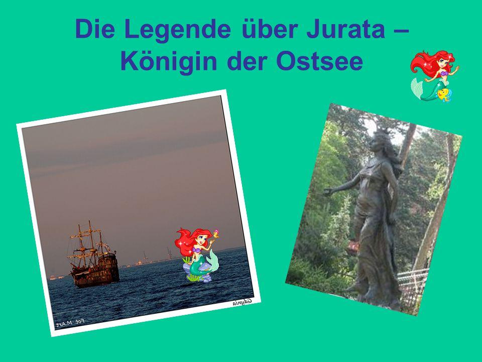 Die Legende über Jurata – Königin der Ostsee