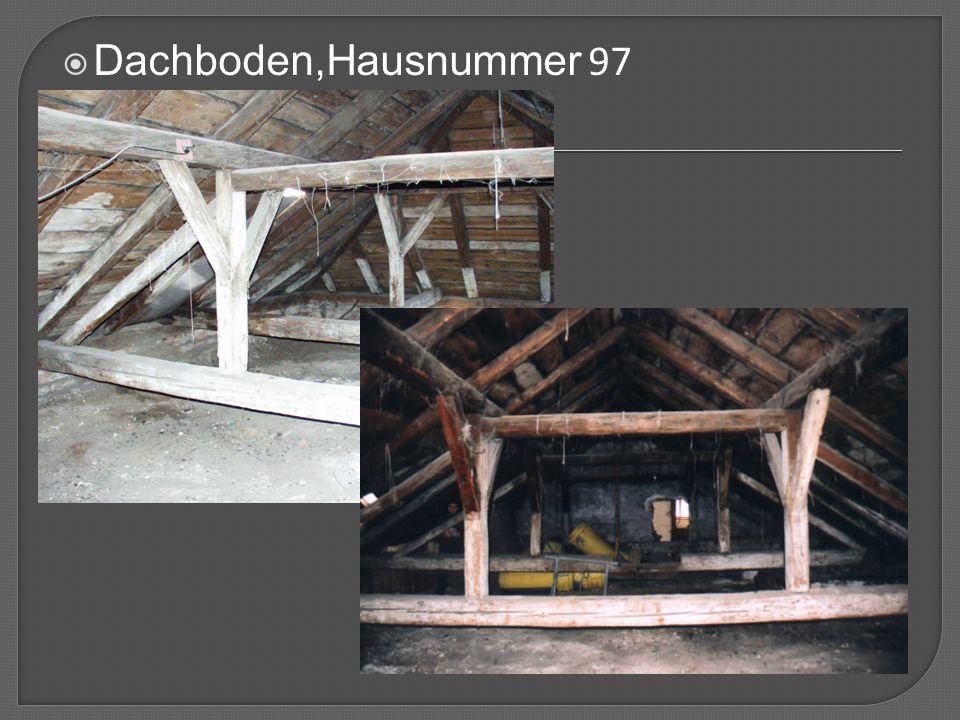  Dachboden,Hausnummer 97
