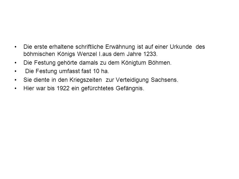 Die erste erhaltene schriftliche Erwähnung ist auf einer Urkunde des böhmischen Königs Wenzel I.aus dem Jahre 1233.