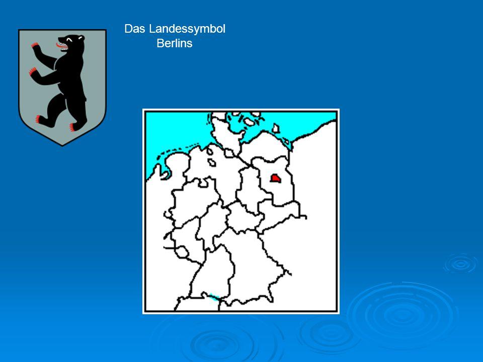 Das Landessymbol Berlins