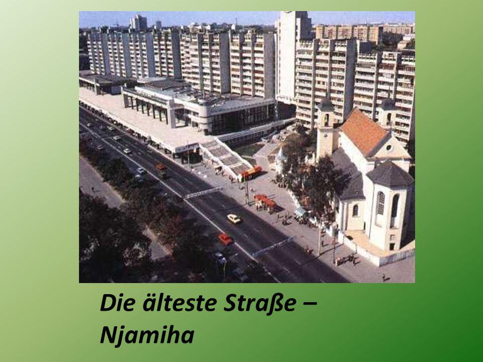 Die älteste Straße – Njamiha