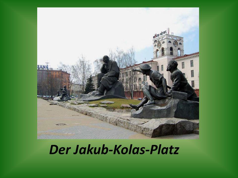 Der Jakub-Kolas-Platz
