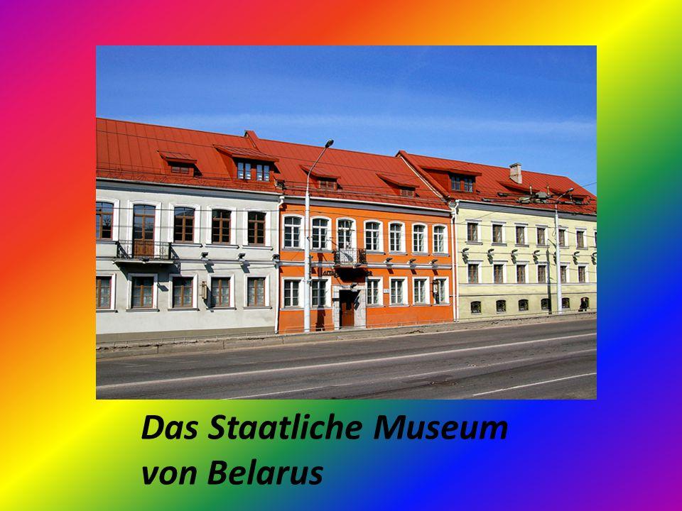 Das Staatliche Museum von Belarus