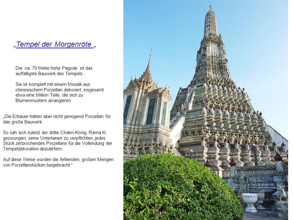 Wat Arun Wat Arun Bangkok Walter Käppeli Ein buddhistischer Tempelbuddhistischer Tempel am westlichen Ufer des Chao Phraya-Flusses.Chao Phraya