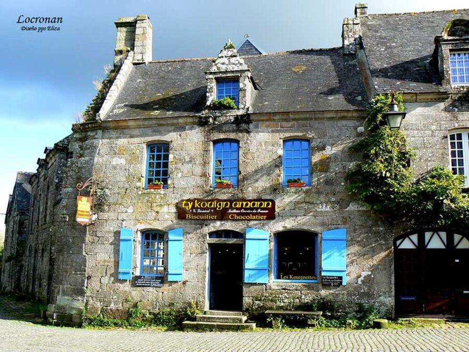 Locronan Locronan wurde in den exklusiven Club der kleine Städte mit Charakter und schönsten Dörfer Frankreichs mit starken Argumenten eingetragen.