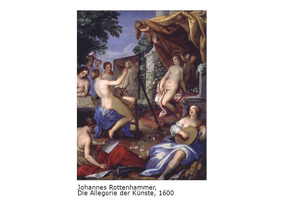 Johannes Rottenhammer, Die Allegorie der Künste, 1600