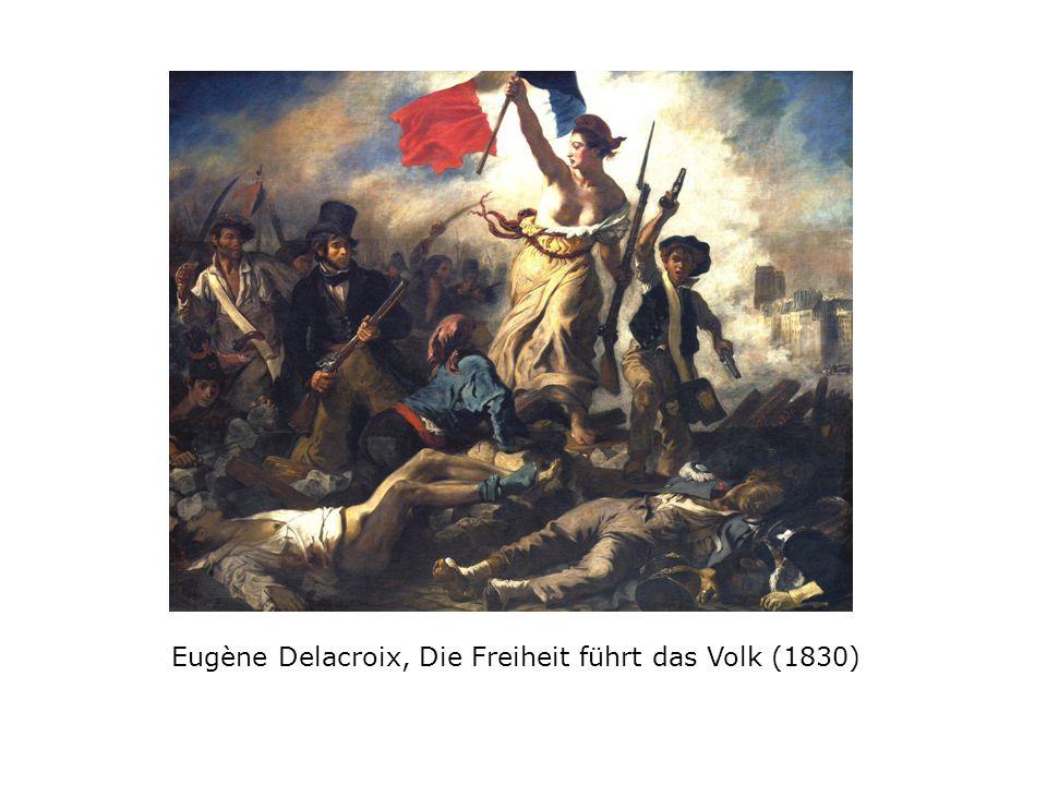 Eugène Delacroix, Die Freiheit führt das Volk (1830)