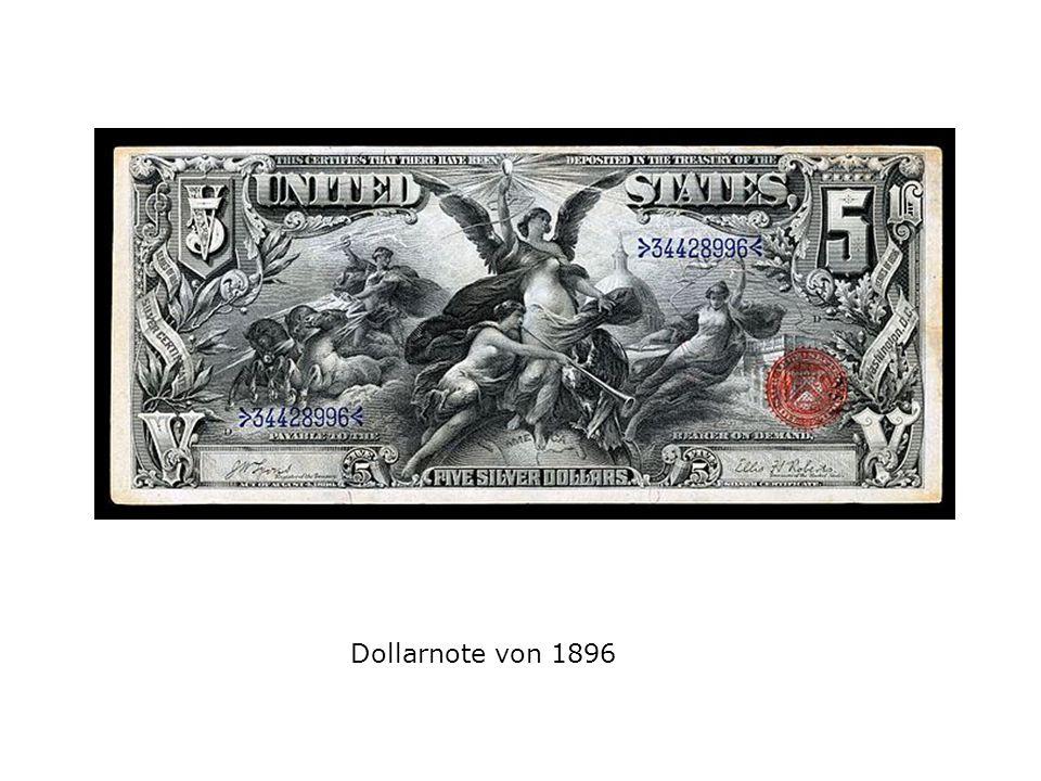 Dollarnote von 1896