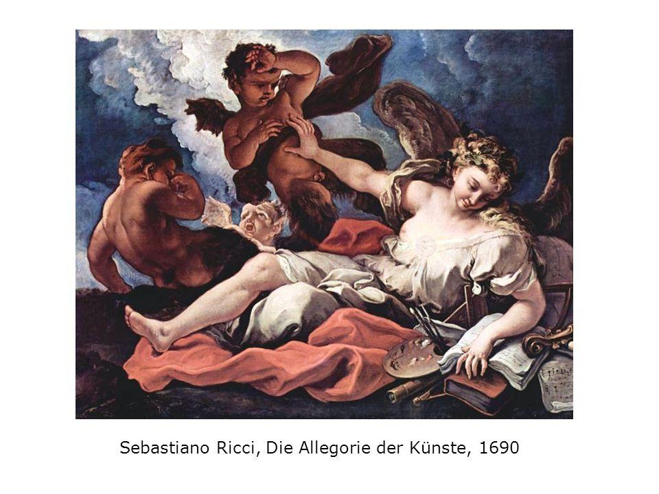 Sebastiano Ricci, Die Allegorie der Künste, 1690