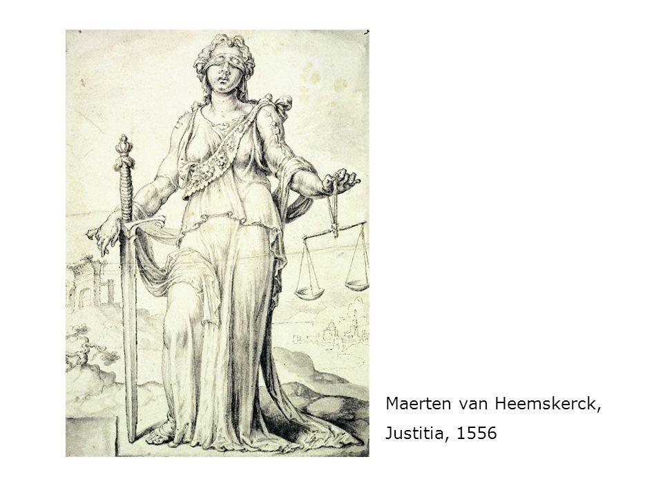 Maerten van Heemskerck, Justitia, 1556