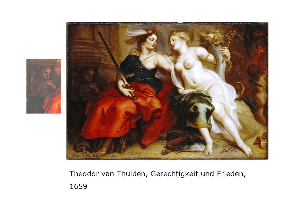 Theodor van Thulden, Gerechtigkeit und Frieden, 1659
