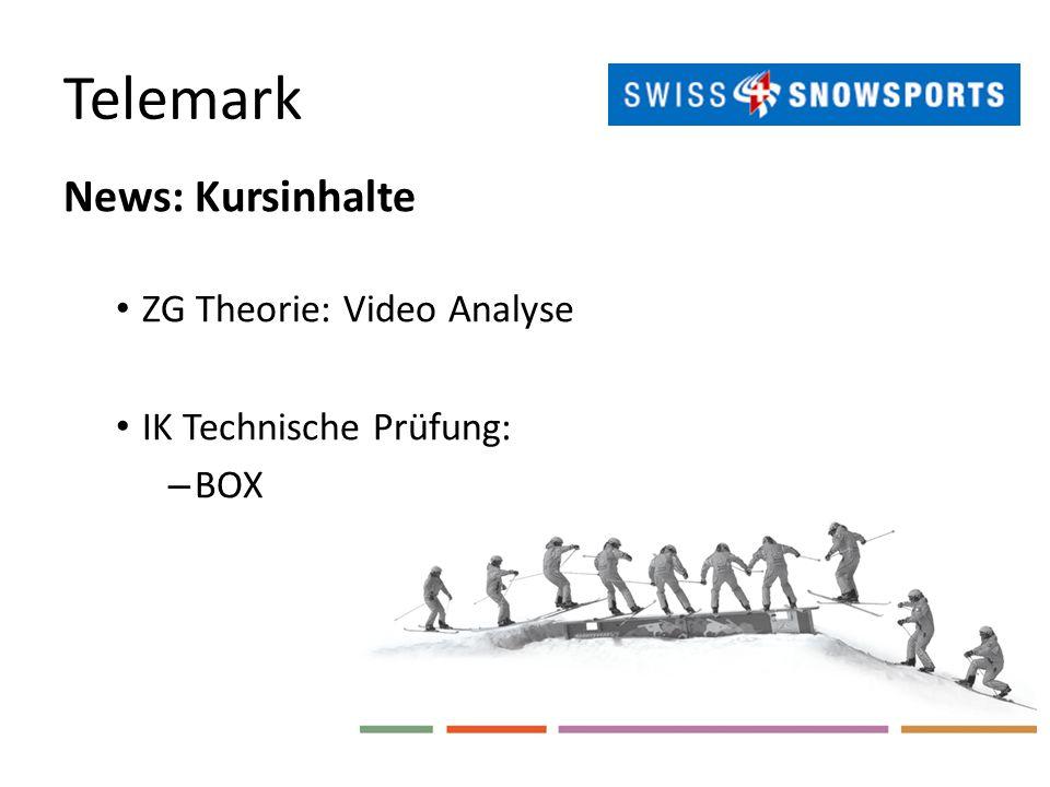 Telemark News: Kursinhalte ZG Theorie: Video Analyse IK Technische Prüfung: – BOX