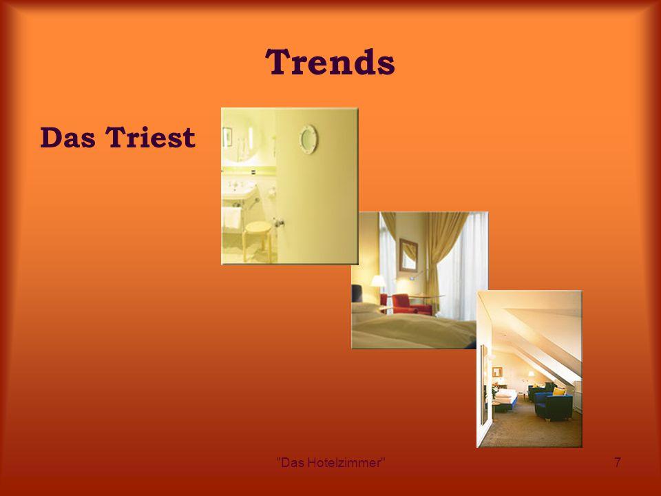 Das Hotelzimmer 7 Trends Das Triest