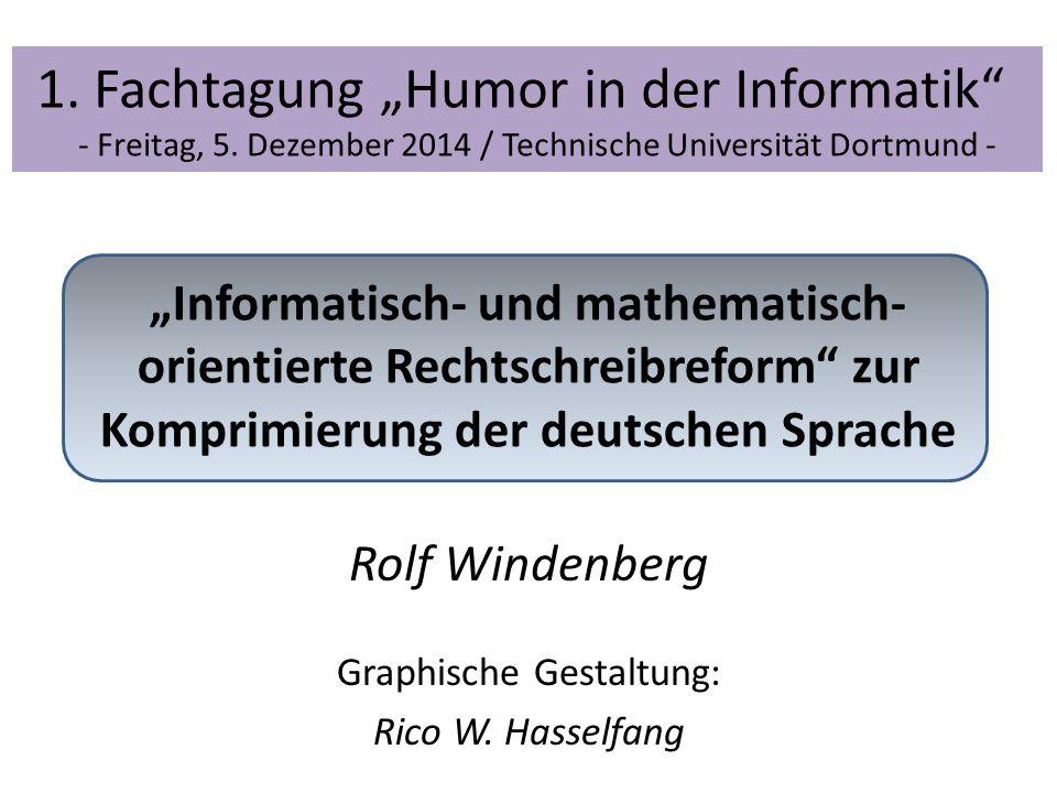 Rolf Windenbergs humoristisches Erstlingswerk