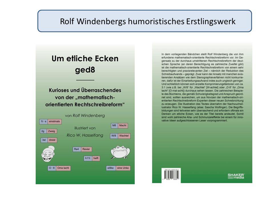 Autor und Illustrator : Who is Who .ROLF WINDENBERG RICO W.
