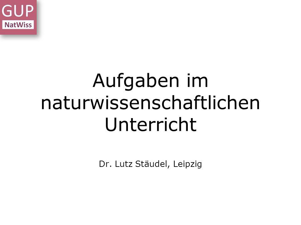 Aufgaben mit Methodenwerkzeugen gestalten Meißen - 04./05.12.2014 - Dr.