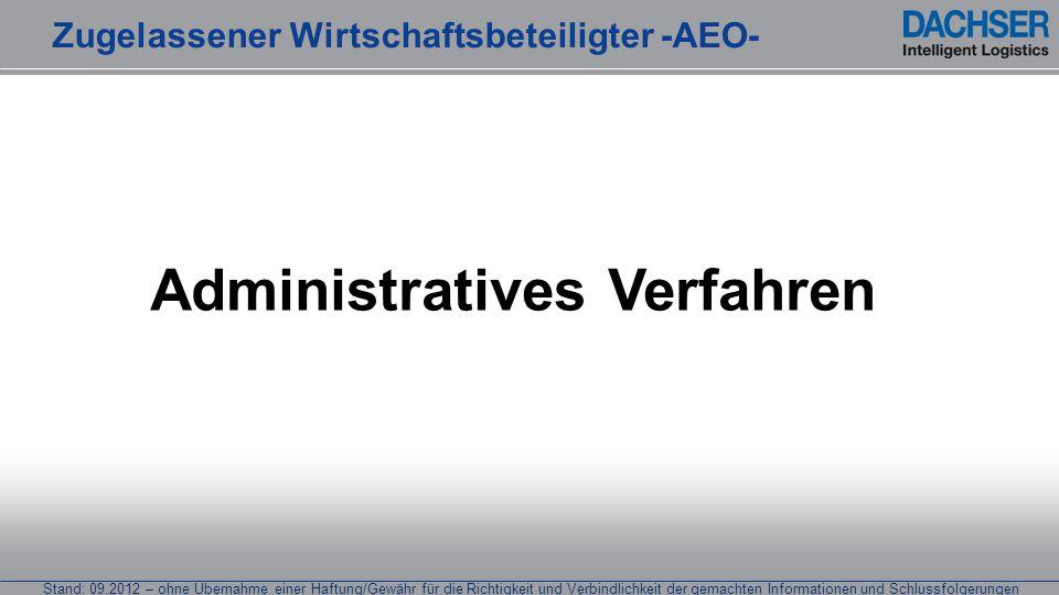 Stand: 09.2012 – ohne Übernahme einer Haftung/Gewähr für die Richtigkeit und Verbindlichkeit der gemachten Informationen und Schlussfolgerungen Admini
