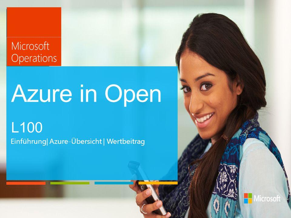 Die Azure in Open-Lizenzierung ist darauf ausgelegt, Geschäfte in Azure mit einer vertrauten Lizenzierungsoption zu vereinfachen, mit der Sie auf einfache Weise Clouddienste zu Ihren anderen lokalen Lösungen hinzufügen können.