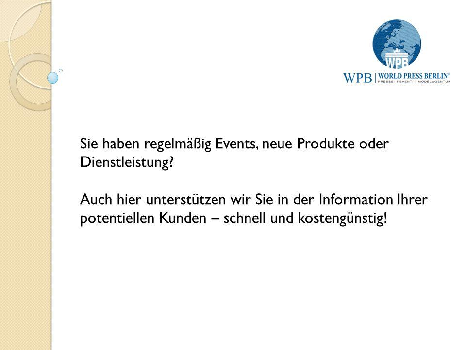WPB World Press Berlin UG – Ihr Pressepartner