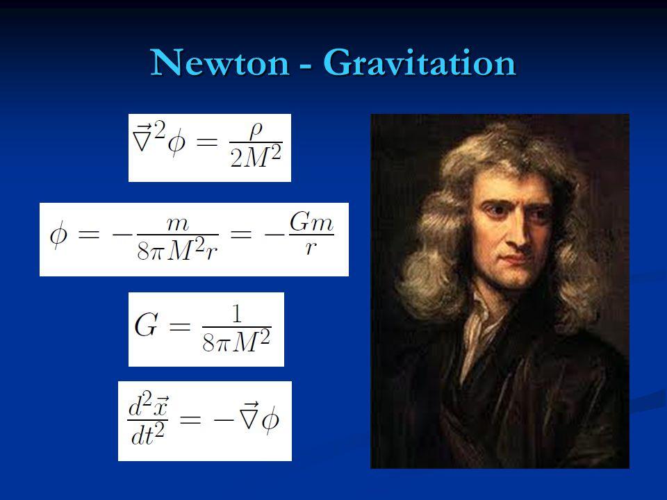 Newton - Gravitation