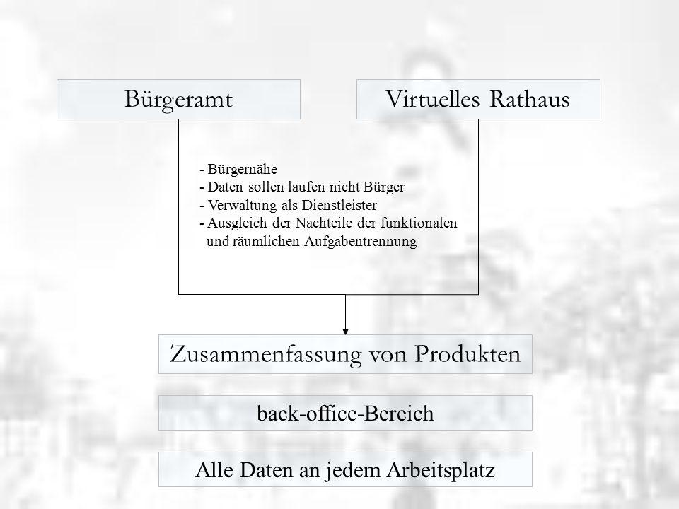 Virtuelle Rathäuser - aber Schritt für Schritt 1.Schaufensterfunktion Downloadbereiche 2.