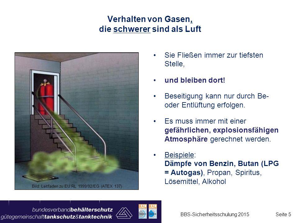 Grenzfälle am Gefahrenbereich: Produktgas darf nicht aus dem Gefahrenbereich in den angrenzenden Bereich gelangen (ggf.