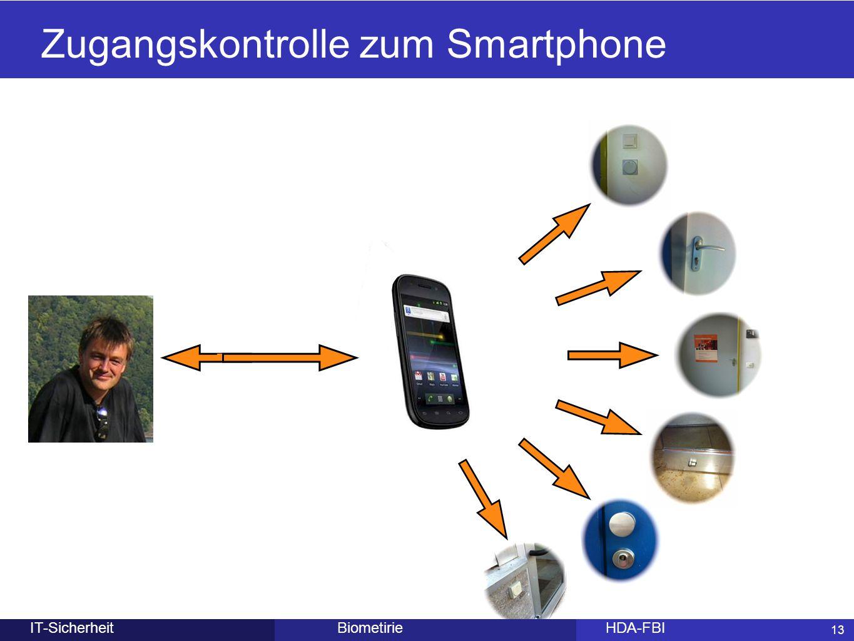 13 BiometirieHDA-FBIIT-Sicherheit Zugangskontrolle zum Smartphone 13