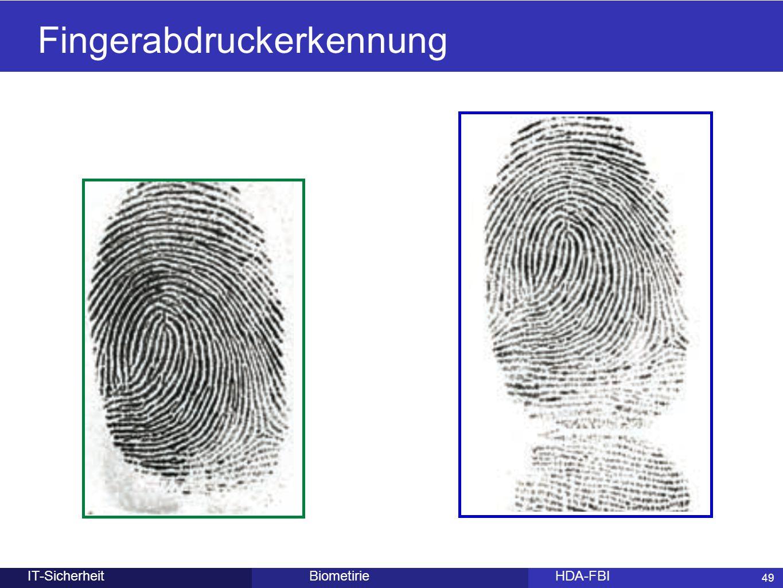 49 BiometirieHDA-FBIIT-Sicherheit Fingerabdruckerkennung 49
